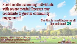 Link to Social Media and Severe mental illness image