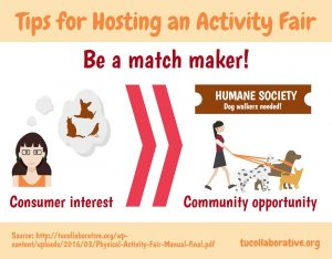 link to me on Tips for Hosting an Activity Fair
